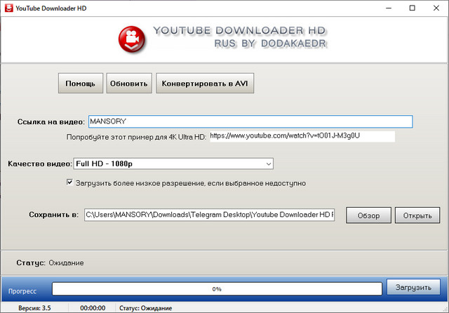 Youtube Downloader HD 3.5.0